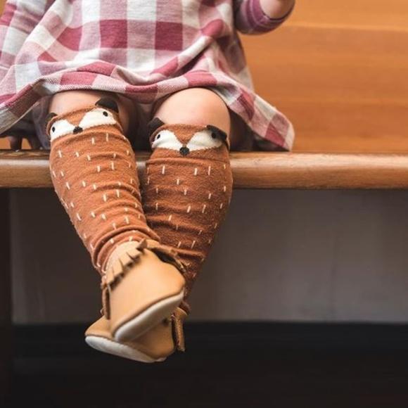 acb599a80 Baby  Toddlers Fox   Raccoon Socks   Leg Warmers